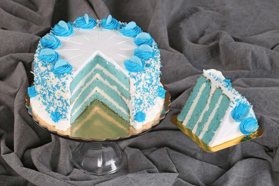 Image result for blue cake