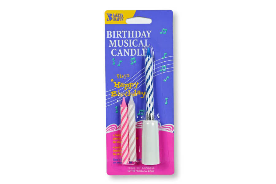 Musical Happy Birthday Candle