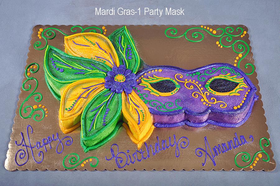 Terrific Mardi Gras Omaha Cake Gallery Funny Birthday Cards Online Alyptdamsfinfo